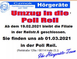 Reileck_Umzug
